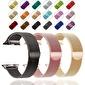 Lopard Watch 42mm Kayış KRD-01 Metal Milanese Çelik Kordon Renkli
